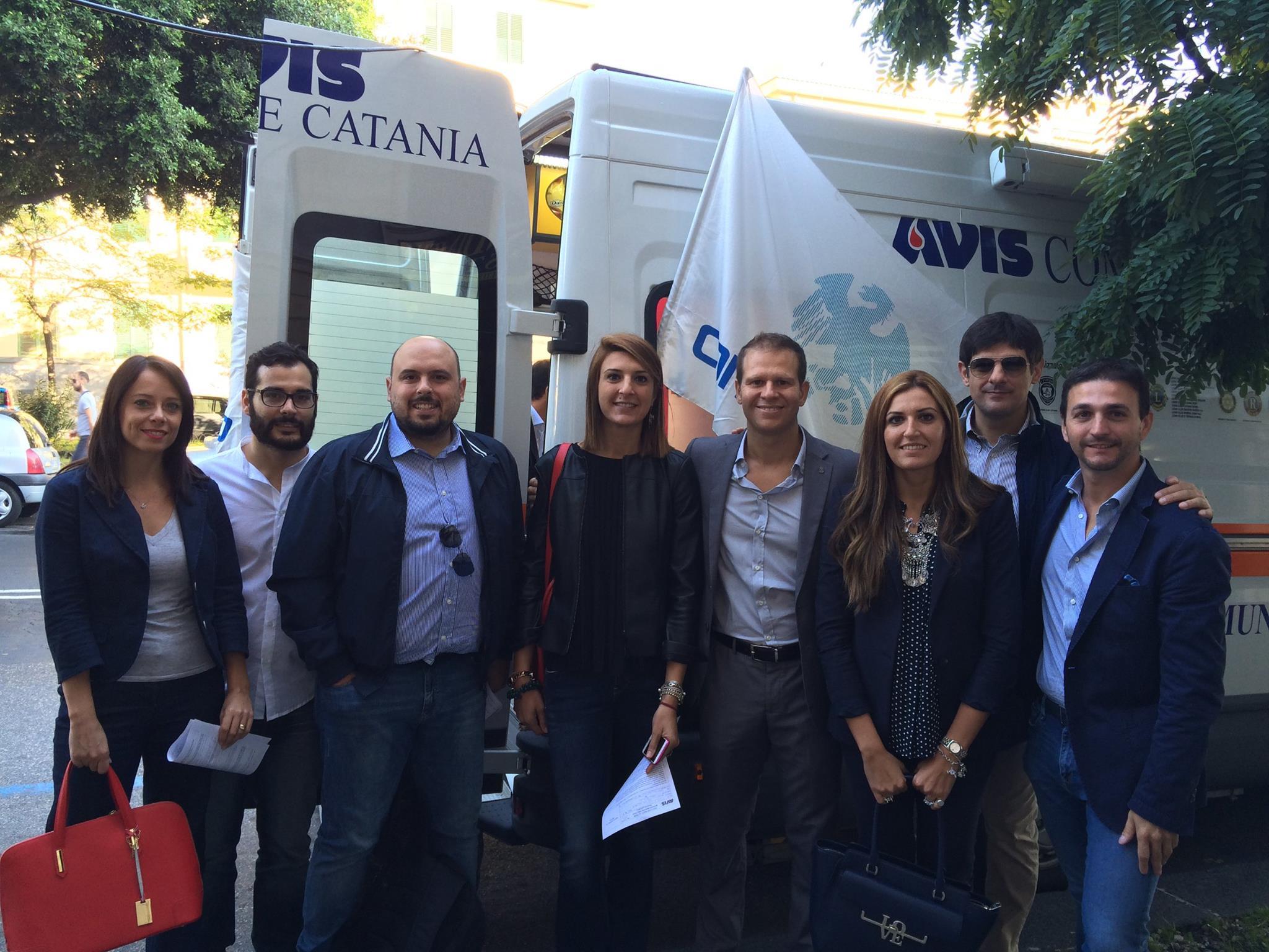 La Giornata della donazione del Gruppo Giovani Imprenditori Confcommercio Catania